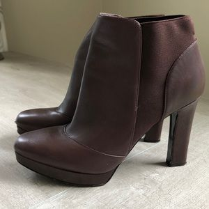Via Spiga Platform Booties
